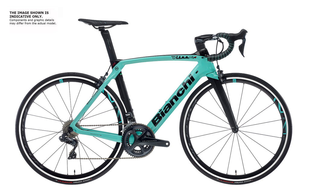 BIANCHI OLTRE XR4 CV - DURA ACE DI2 11SP 52/36 FULCRUM RACING ZERO 2020
