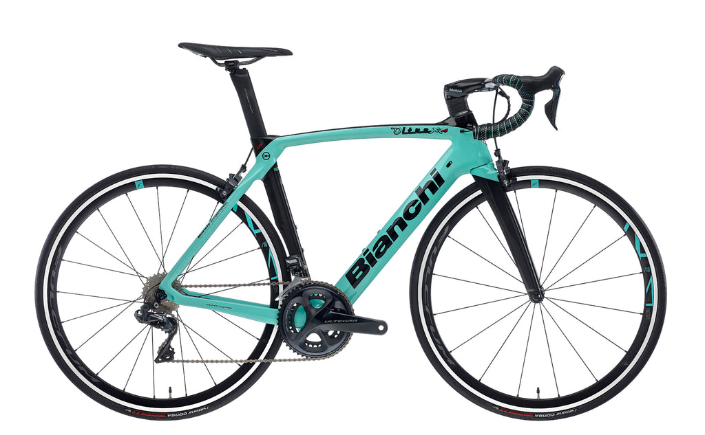 BIANCHI OLTRE XR4 CV - ULTEGRA DI2 11SP 50/34 FULCRUM RACING 418 METRON 5D BAR 2020