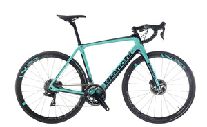 BIANCHI INFINITO CV DISC - DURA ACE DI2 11SP 50/34 FULCRUM RACING 418 DB DISC 2020