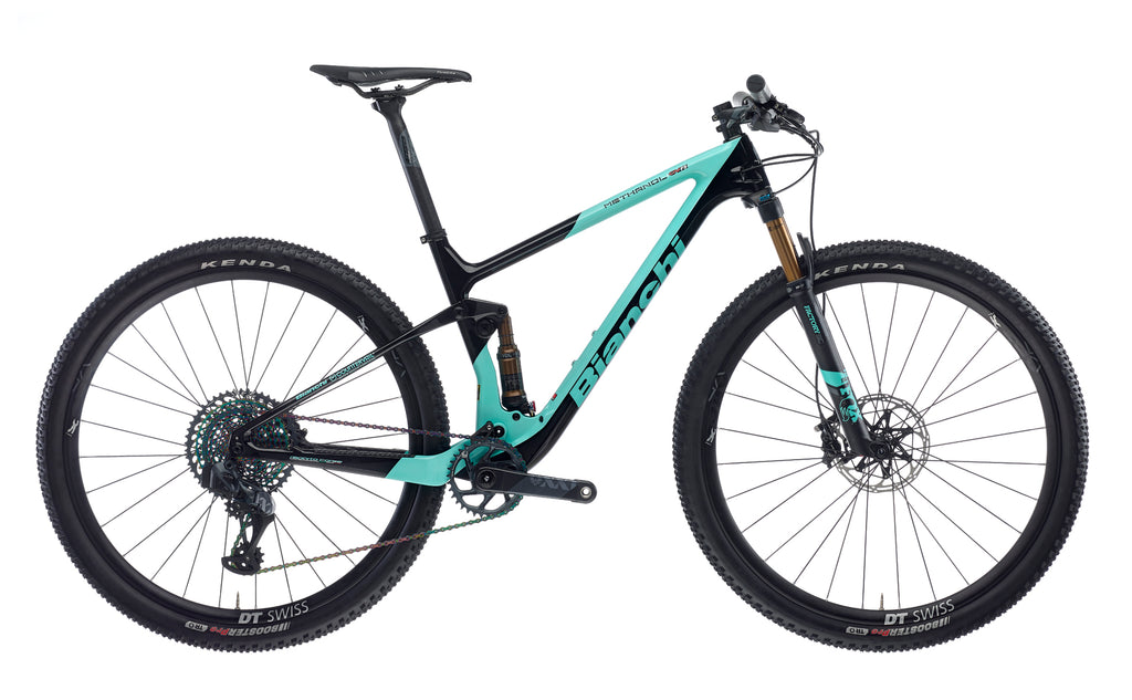 BIANCHI METHANOL CV FS 9,1 - XX1 EAGLE AXS 1X12 FOX 32 SC FACTORY/FLOAT DPS FACTORY DT SWISS XR1501 2020
