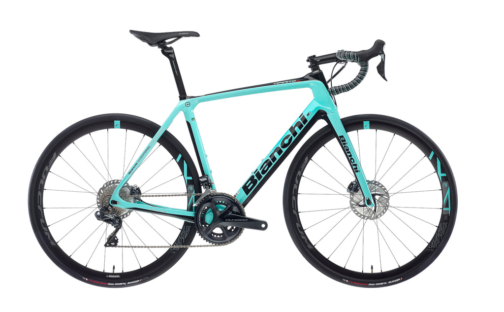 BIANCHI INFINITO CV DISC - ULTEGRA DI2 11SP 50/34 FULCRUM RACING 418 DB DISC 2020