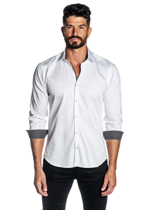 Simply Stated White Button Down