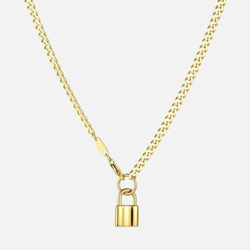 Privacy Please Gold Necklace