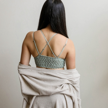 Padded Lace Sage Bralette
