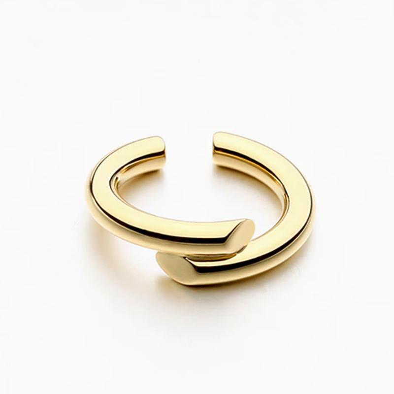 Side By Side Gold Ring