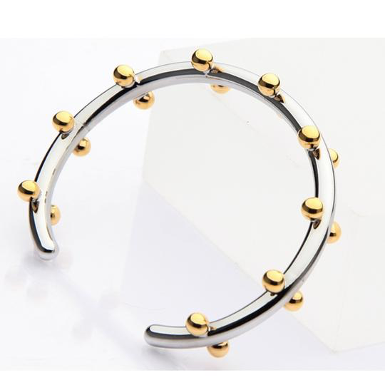 The Analyst Silver & Gold Cuff Bracelet