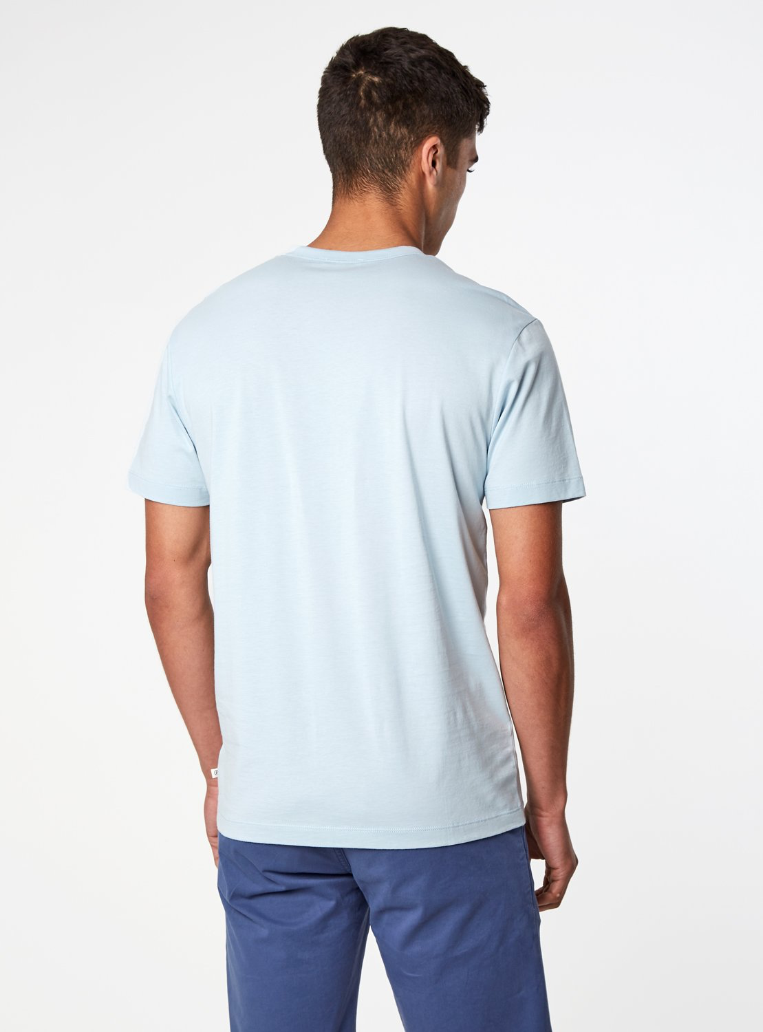 Iconic Light Blue Tee