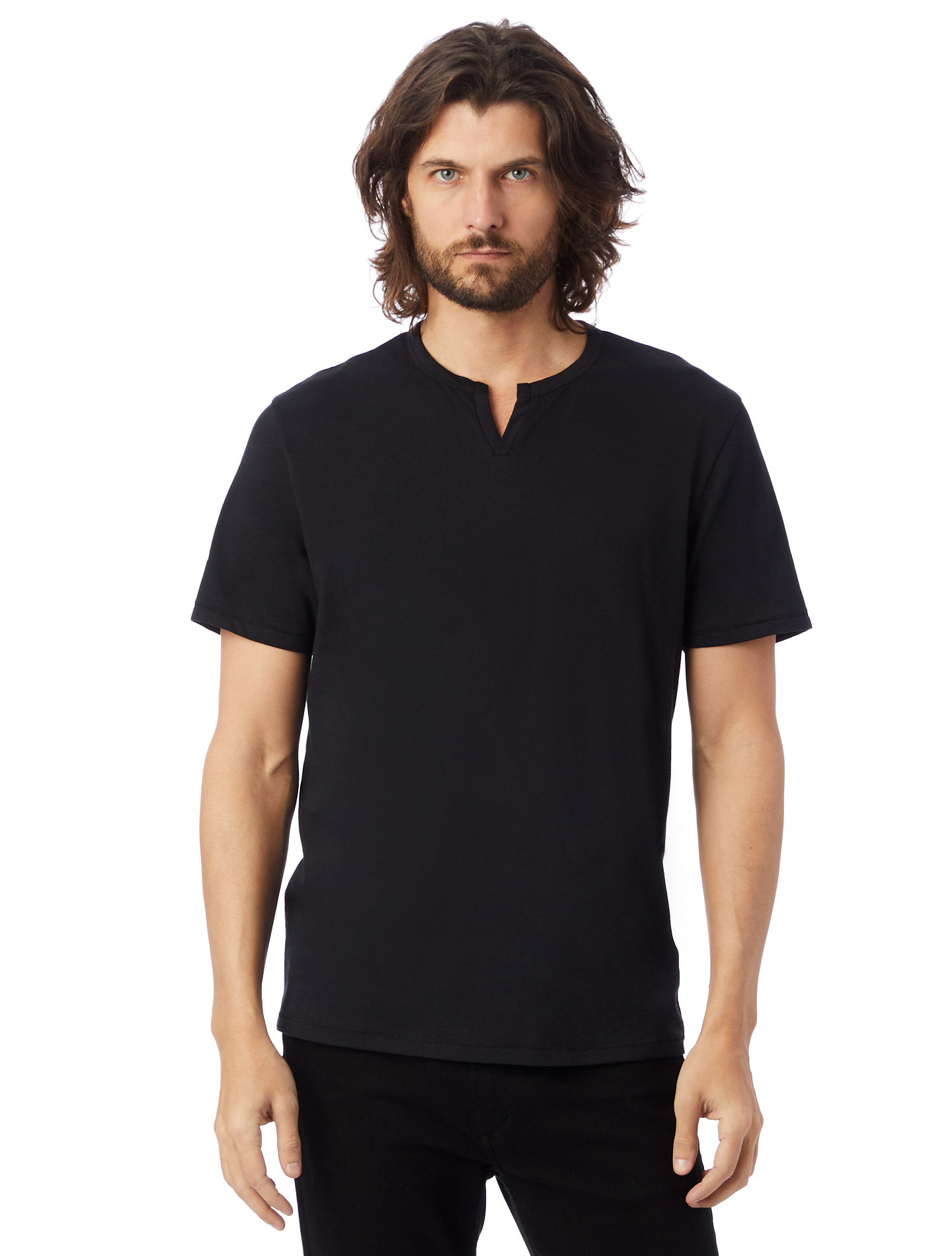 Organic Pima True Black Tee