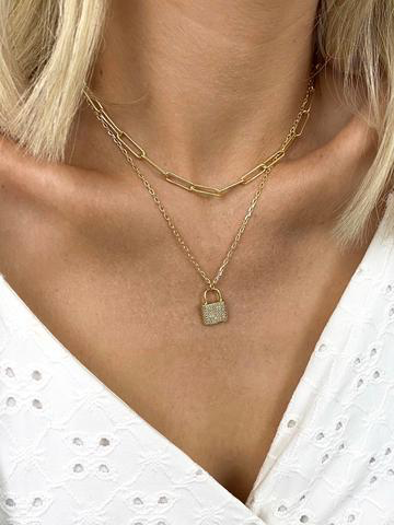 Hitched Layered Necklace