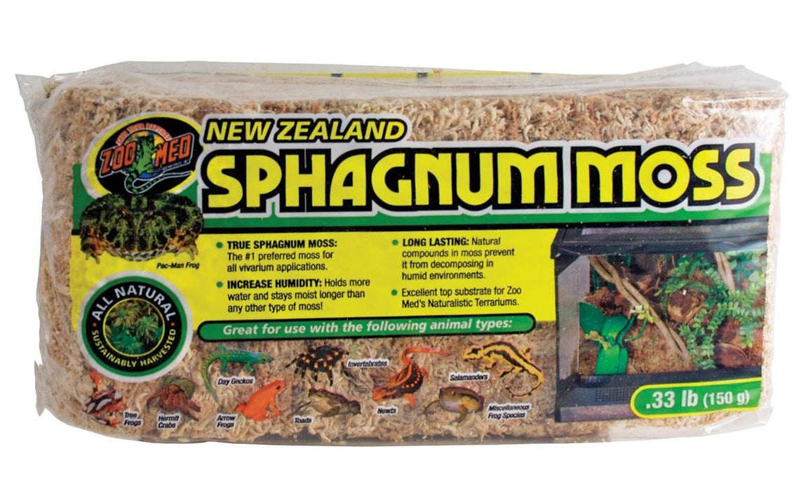 New Zealand Sphagnum Moss - Compressed
