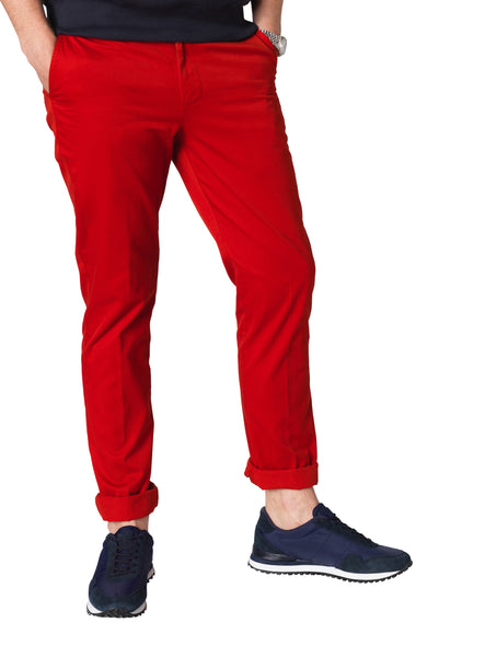 Chilli Red Chinos