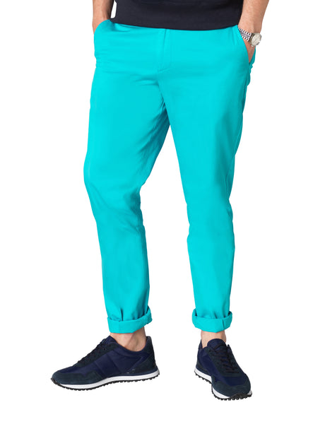 Electric Blue Chinos