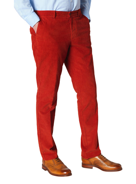 Ron Burgundy Red Cords