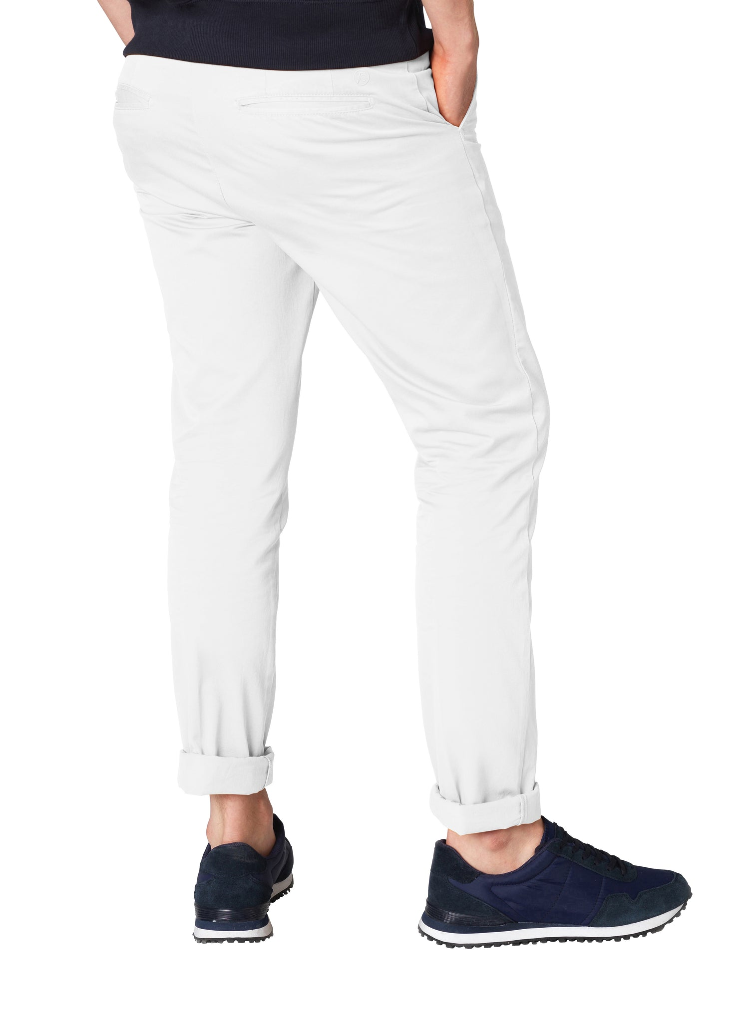 Dove White Chinos