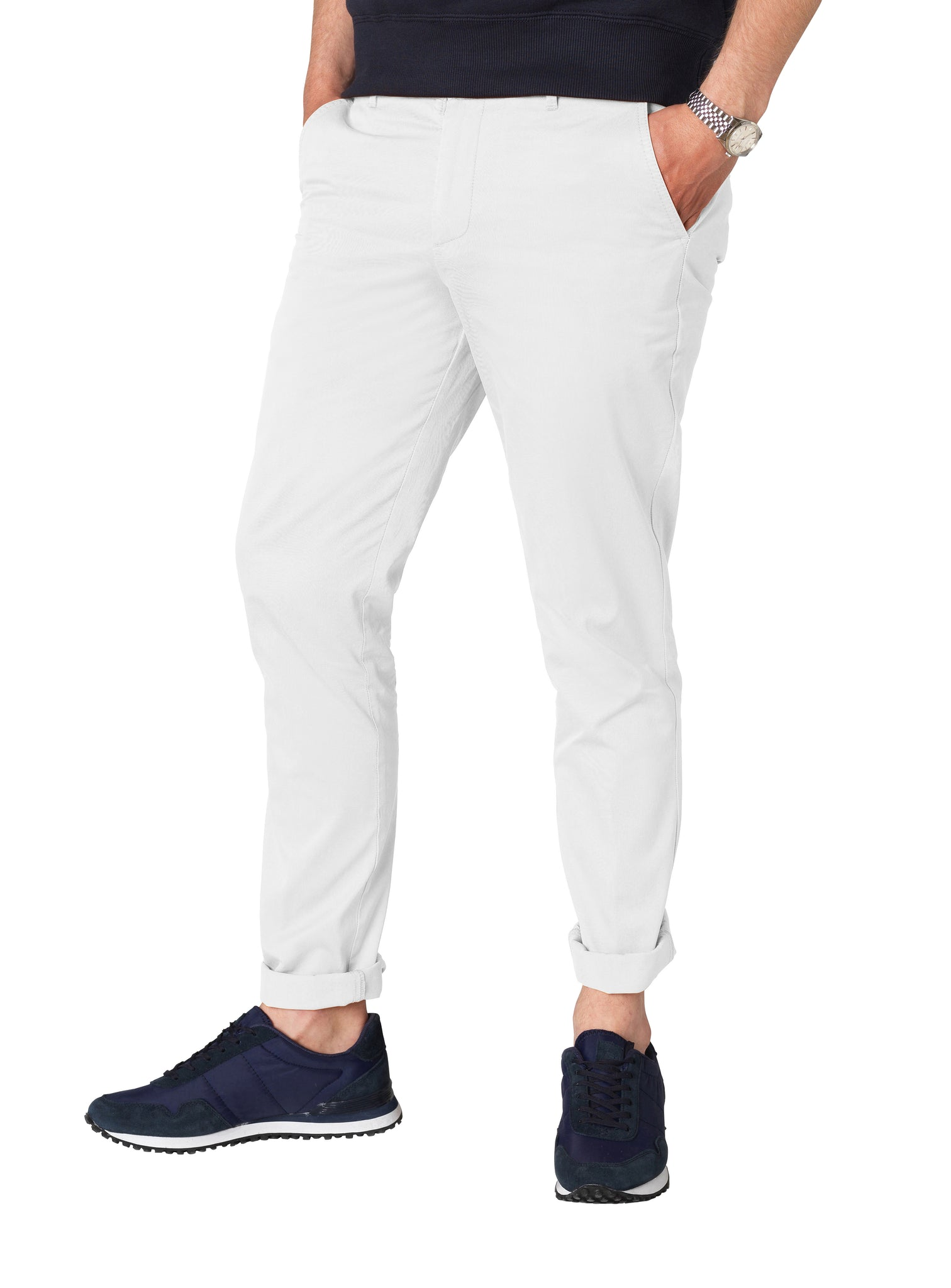 Dove White Chinos ... 7e2d493e081a8