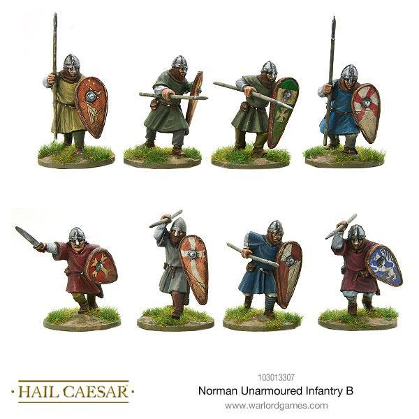 Norman Unarmoured Infantry B