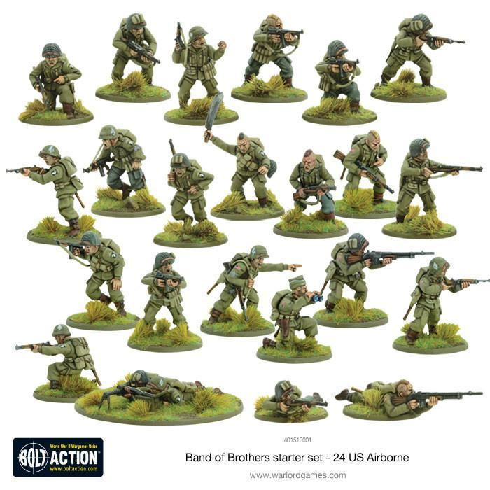 bolt action 2 starter set band of brothers warlord games us
