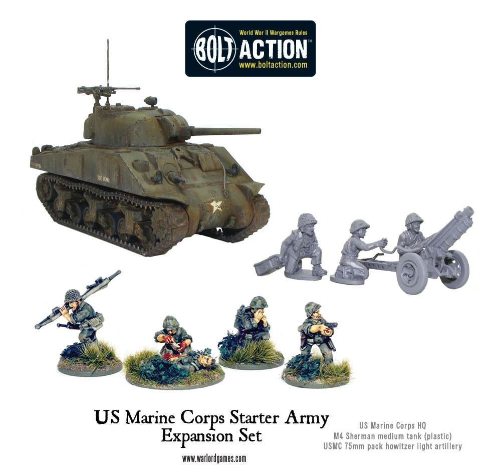 usmc starter army expansion set warlord games us