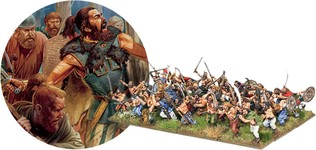 Celts, Britons, Dacians 28mm