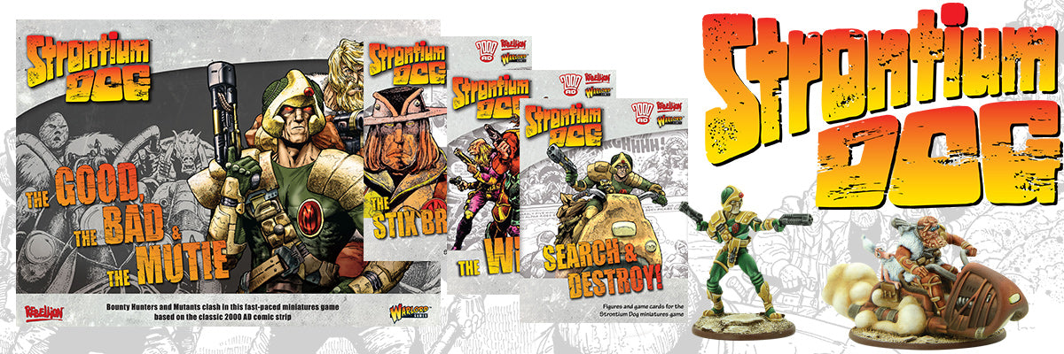 Strontium Dog Miniatures Game | Wave 1 Available Now!