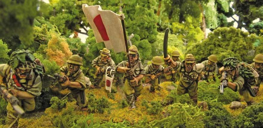 Bolt Action Japanese 28mm