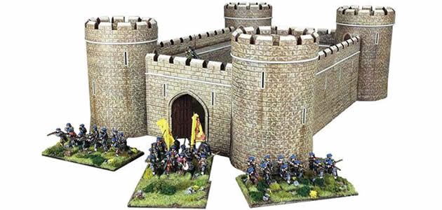 Plastic Castle 28mm