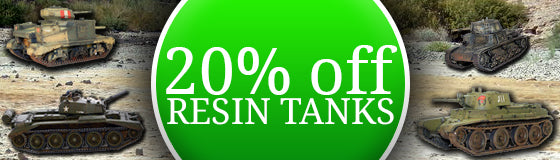 20% OFF Resin Tanks
