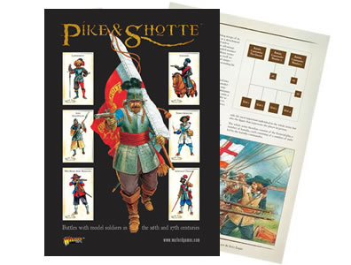 Pike & Shotte rulebook