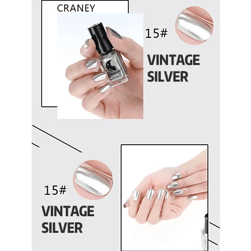 Luxury Metallic Mirror Nail Polish