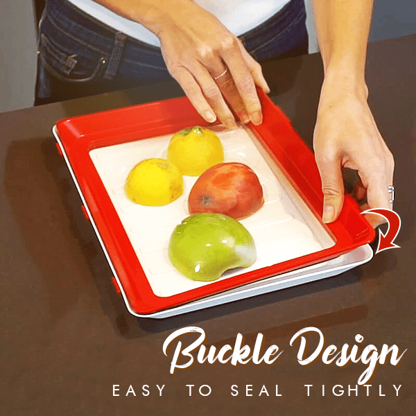 Fresh™ Stackable Space Saving Storage Tray