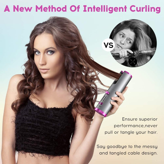 Lux Portable Travel Hair Curler