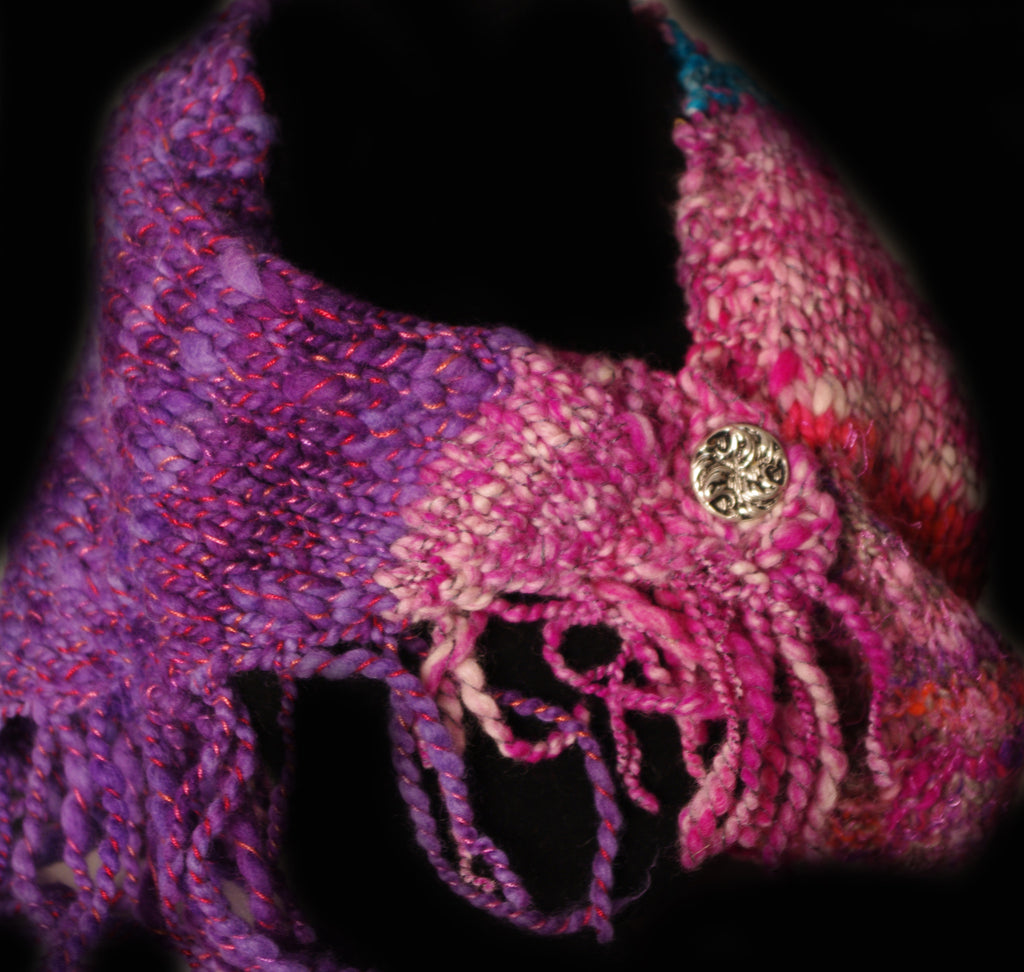 Carnation Collar Shawl