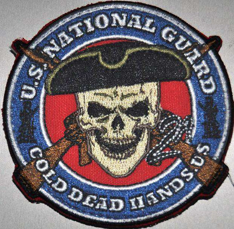US National Guard Morale Patch (Velcro) , Patches - Cold Dead Hands, Cold Dead Hands