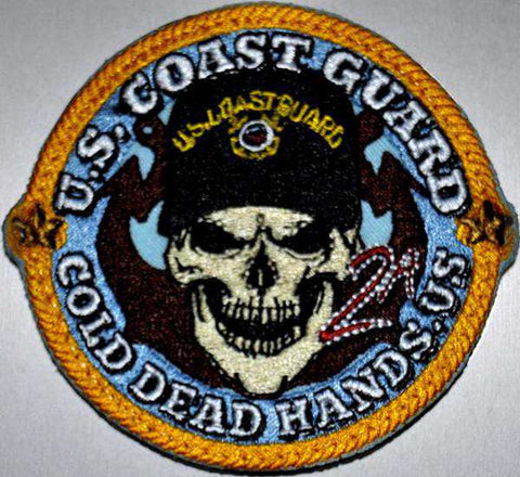 CDH Coast Guard Morale Patch (Iron/Sew On) , Patches - Cold Dead Hands, Cold Dead Hands