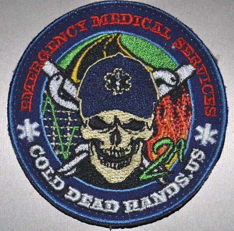 EMS/EMT Morale Patch (Velcro) , Patches - Cold Dead Hands, Cold Dead Hands