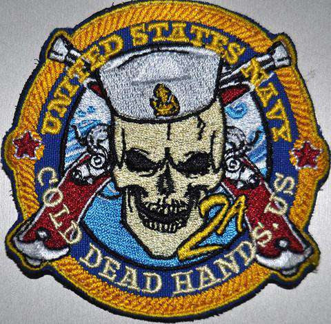 CDH US Navy Morale Patch (Iron/Sew On) , Patches - CDH Store, Cold Dead Hands