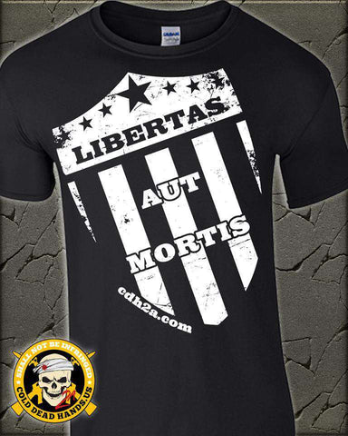 Liberty Or Death (Latin) T-Shirt , TShirts - Cold Dead Hands, Cold Dead Hands