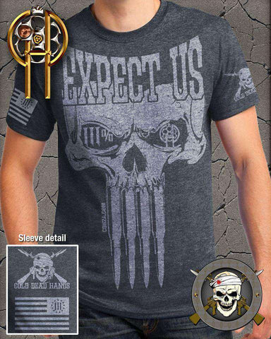 Cold Dead Hands Expect Us T-Shirt , TShirts - Cold Dead Hands, Cold Dead Hands