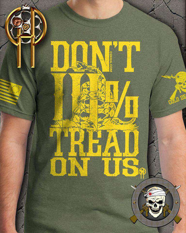 Don't Tread On Us Patriot T-Shirt , TShirts - Cold Dead Hands, Cold Dead Hands