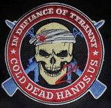 CDH In Defiance of Tyranny Morale Patch (Iron On) One Patch, Patches - Cold Dead Hands, Cold Dead Hands   - 3