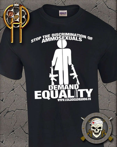 Ammosexual Equality T-Shirt , TShirts - Cold Dead Hands, Cold Dead Hands