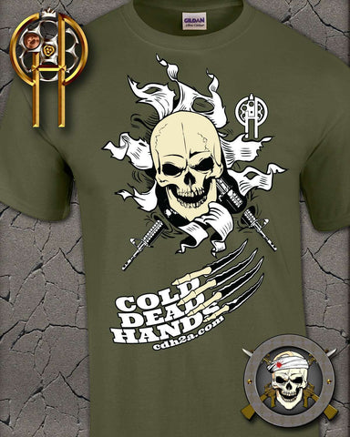 Bust Out Skull T-Shirt , TShirts - Cold Dead Hands, Cold Dead Hands