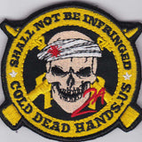 Shall Not Be Infringed Morale Patch (Velcro) , Patches - Cold Dead Hands, Cold Dead Hands   - 1