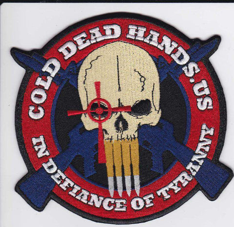 CDH In Defiance Of Tyranny Morale Patch [Velcro / New] , Patches - Cold Dead Hands, Cold Dead Hands