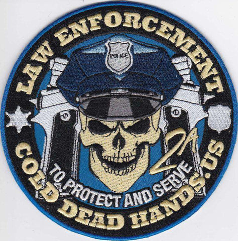 CDH L.E.O Morale Patch (Iron/Sew On) , Patches - Cold Dead Hands, Cold Dead Hands