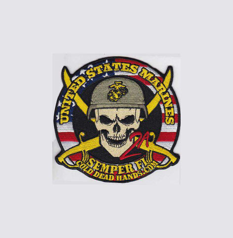 CDH USMC Morale Patch (Velcro) , Patches - Cold Dead Hands, Cold Dead Hands   - 1