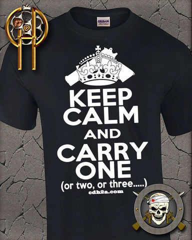 BLACK FRIDAY DEAL: Keep Calm T-shirt , TShirts - Cold Dead Hands, Cold Dead Hands   - 1
