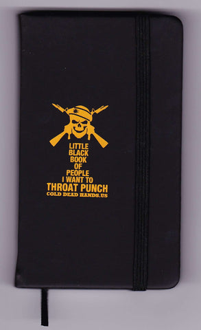 Little Black Throat Punch Book (CDH Exclusive) , Books - Cold Dead Hands, Cold Dead Hands   - 1