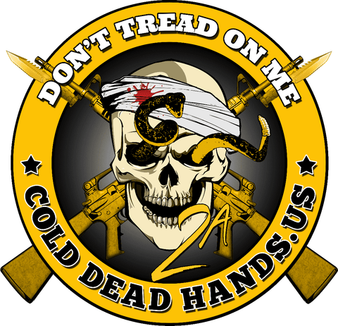 BLACK FRIDAY DEAL Don't Tread on Me Vinyl Decal , Decals - Cold Dead Hands, Cold Dead Hands   - 1