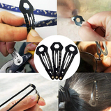 9 In 1 EDC Hairpin Multi-Tool
